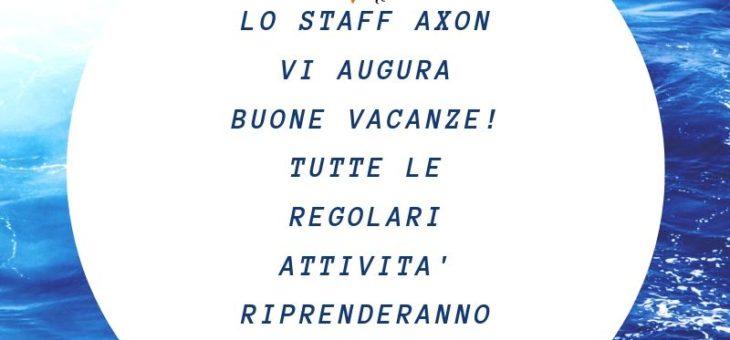 Buone Vacanze! Da Axon Sas